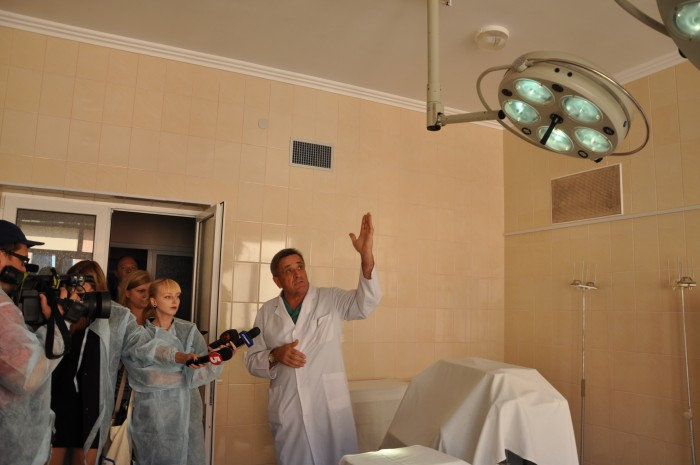 Blocul operational al Spitalului Raional Novoselytsya