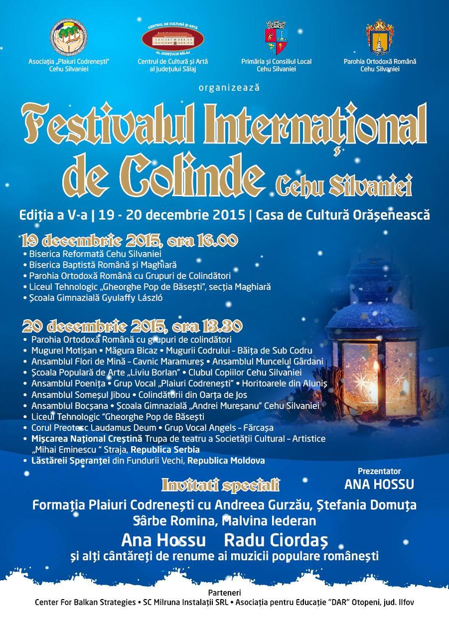 Afis_Festival de Colinde 2015