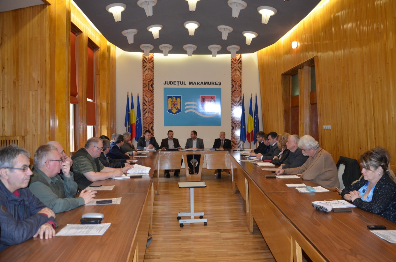Sedinta Consiliului Judetean Maramures